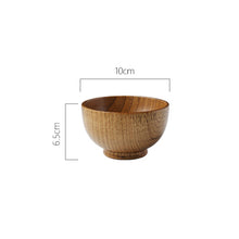 Load image into Gallery viewer, Hand Made Natural Wooden Bowl