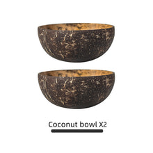 Load image into Gallery viewer, Superb Natural Coconut Bowl
