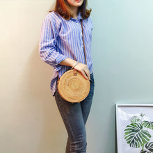 Load image into Gallery viewer, Elegent Rattan Handmade Bag