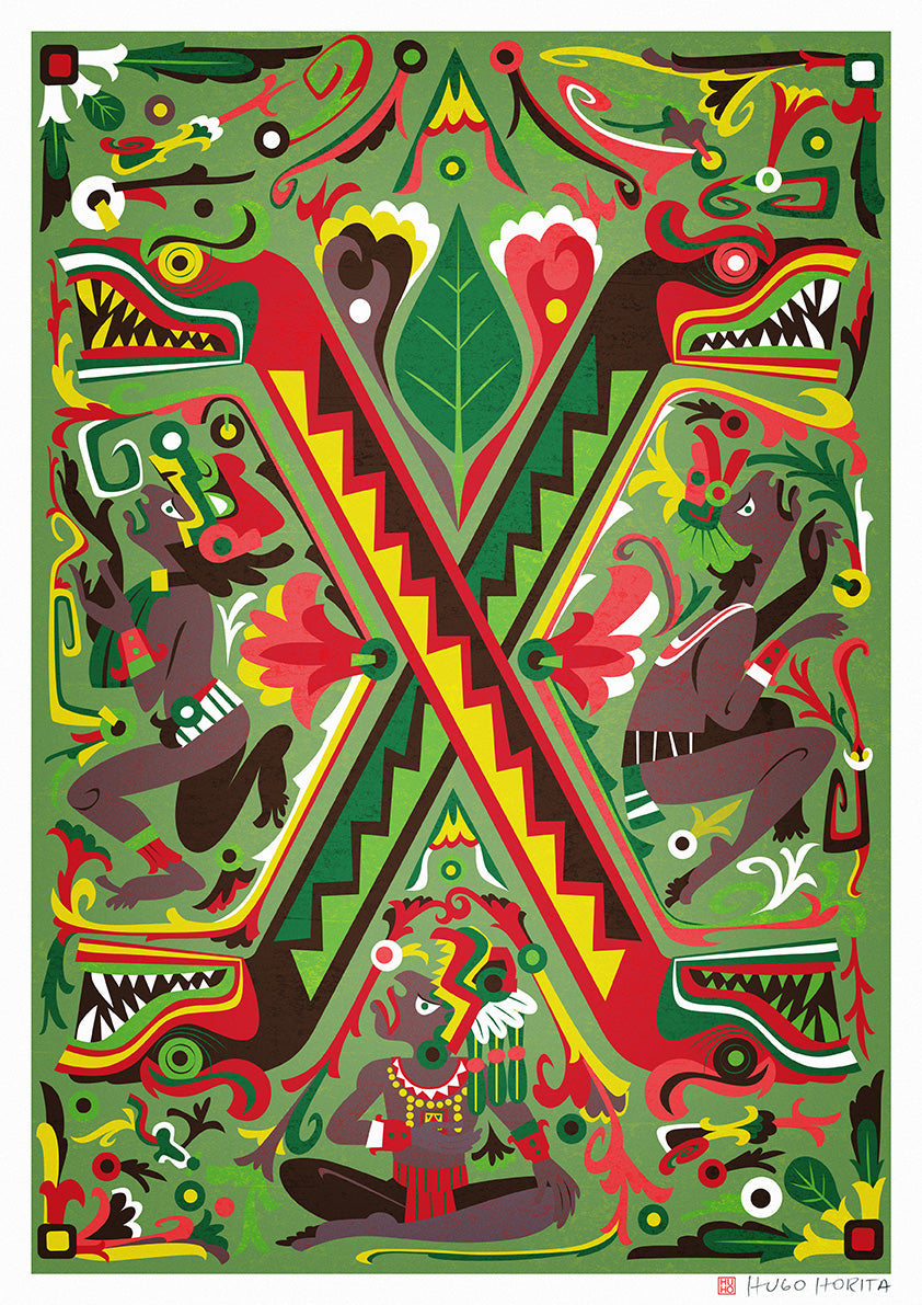 Mexico by artist Hugo Horita
