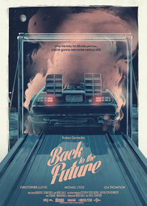 Back to the Future Trilogy from artist Nicolas Barbera
