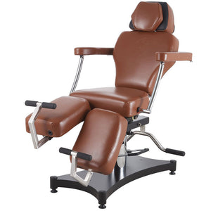 TATSoul 680 Oros Tattoo Client Chair - Tobacco