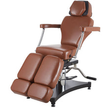 Load image into Gallery viewer, TATSoul 680 Oros Tattoo Client Chair - Tobacco