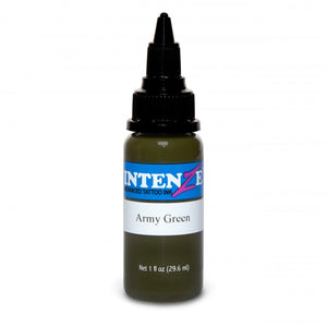 Intenze Ink Earth Tone Army Green 30ml (1oz)