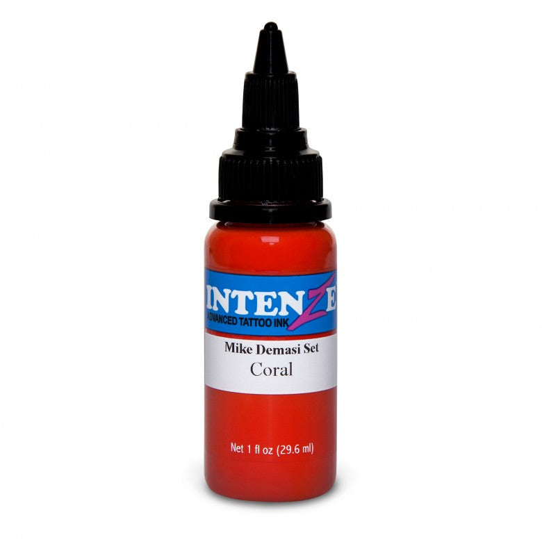 Intenze Ink Mike DeMasi Coral Portrait 30ml (1oz) - Ink Stop Consumables