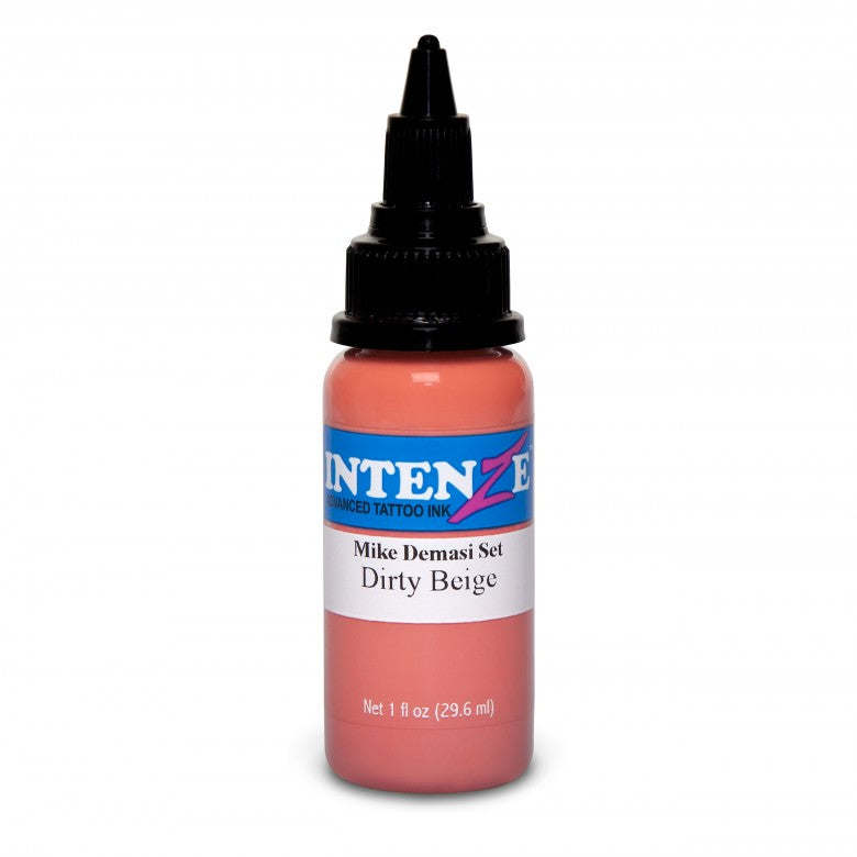 Intenze Ink Mike DeMasi Dirty Beige Portrait 30ml (1oz) - Ink Stop Consumables