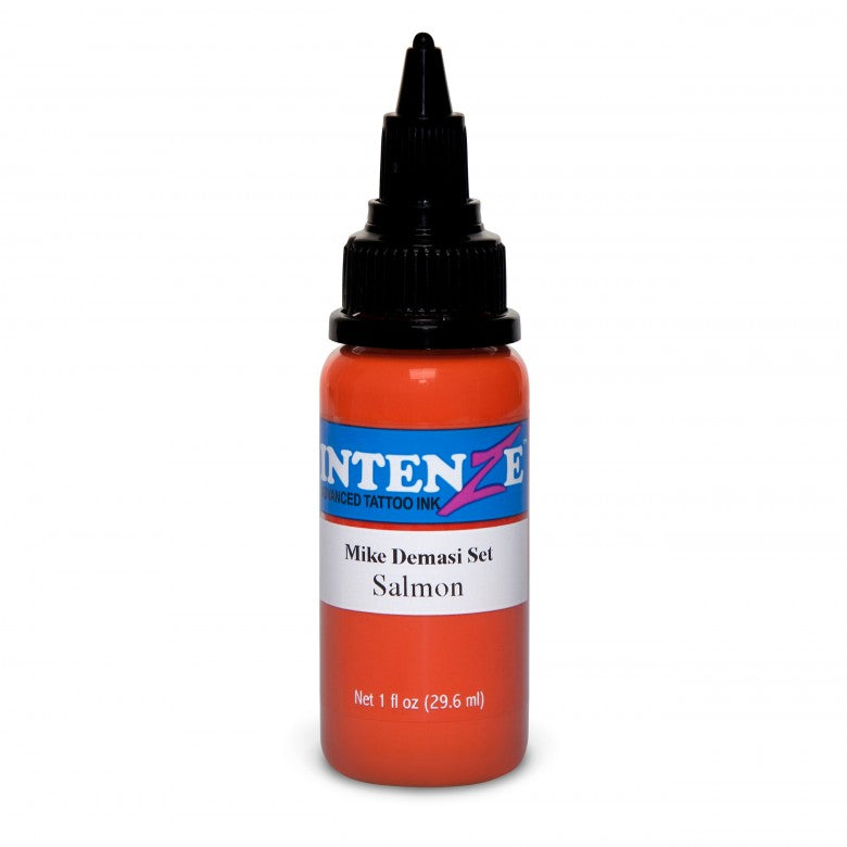 Intenze Ink Mike DeMasi Salmon Portrait 30ml (1oz) - Ink Stop Consumables