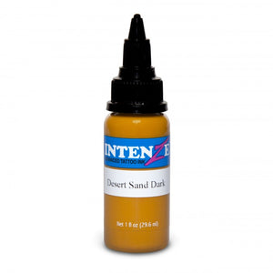 Intenze Ink Earth Tone Desert Sand Dark 30ml (1oz) - Ink Stop Consumables