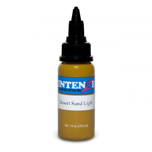 Intenze Ink Earth Tone Desert Sand Light 30ml (1oz) - Ink Stop Consumables