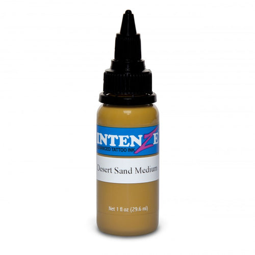 Intenze Ink Earth Tone Desert Sand Medium 30ml (1oz) - Ink Stop Consumables