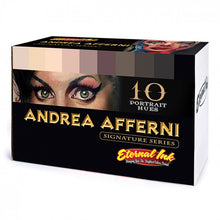 Load image into Gallery viewer, Complete Set of 10 Eternal Ink Andrea Afferni Portrait Set 30ml (1oz)