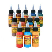 Load image into Gallery viewer, Complete Set of 12 Eternal Ink Muted Earth Colours 30ml (1oz)