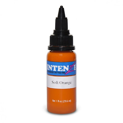 Intenze Ink Basic Soft Orange 30ml (1oz) - Ink Stop Consumables