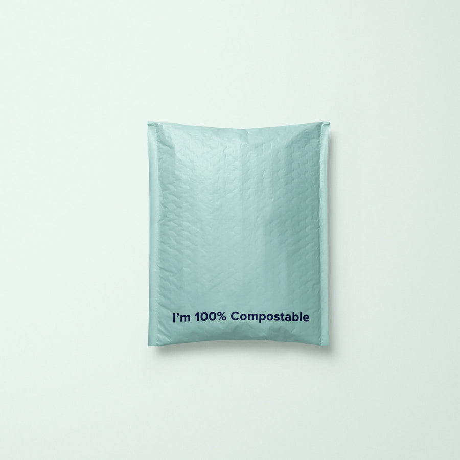 Compostable Bubble Mailer - Teal