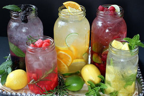 Fruit Waters to Entice and Hydrate