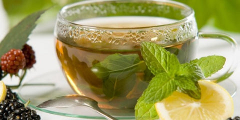 Calm Yourself with Peppermint Tea
