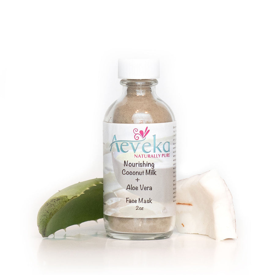 Nourishing Coconut Milk & Aloe Vera Mask - Aeveka