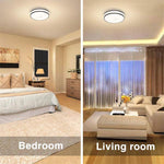 32W LED Round Ceiling Light, CRI 90 Outdoor Ceiling Lamp