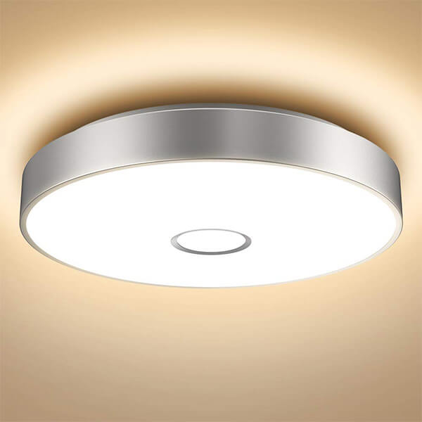 32W Super Bright Flush Ceiling Lights with Aluminum Side, CRI 90 5000K Daylight White Wall Mounted Ceiling Lamp