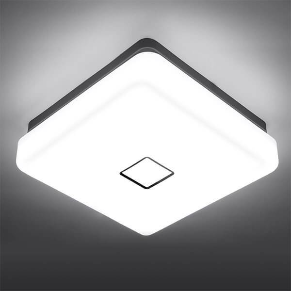 Square Bathroom Lights IP65 Waterproof 24w LED Ceiling Light