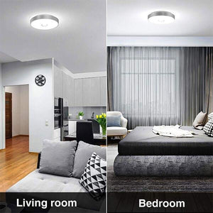 32W LED Ceiling Light 5000K Daylight White Ceiling Mounted Light, IP65 Waterproof, Flush Ceiling Light 2800LM