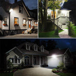 Security Lights with Motion Sensor 5000K Daylight White, IP66 Waterproof for Garden, Garage