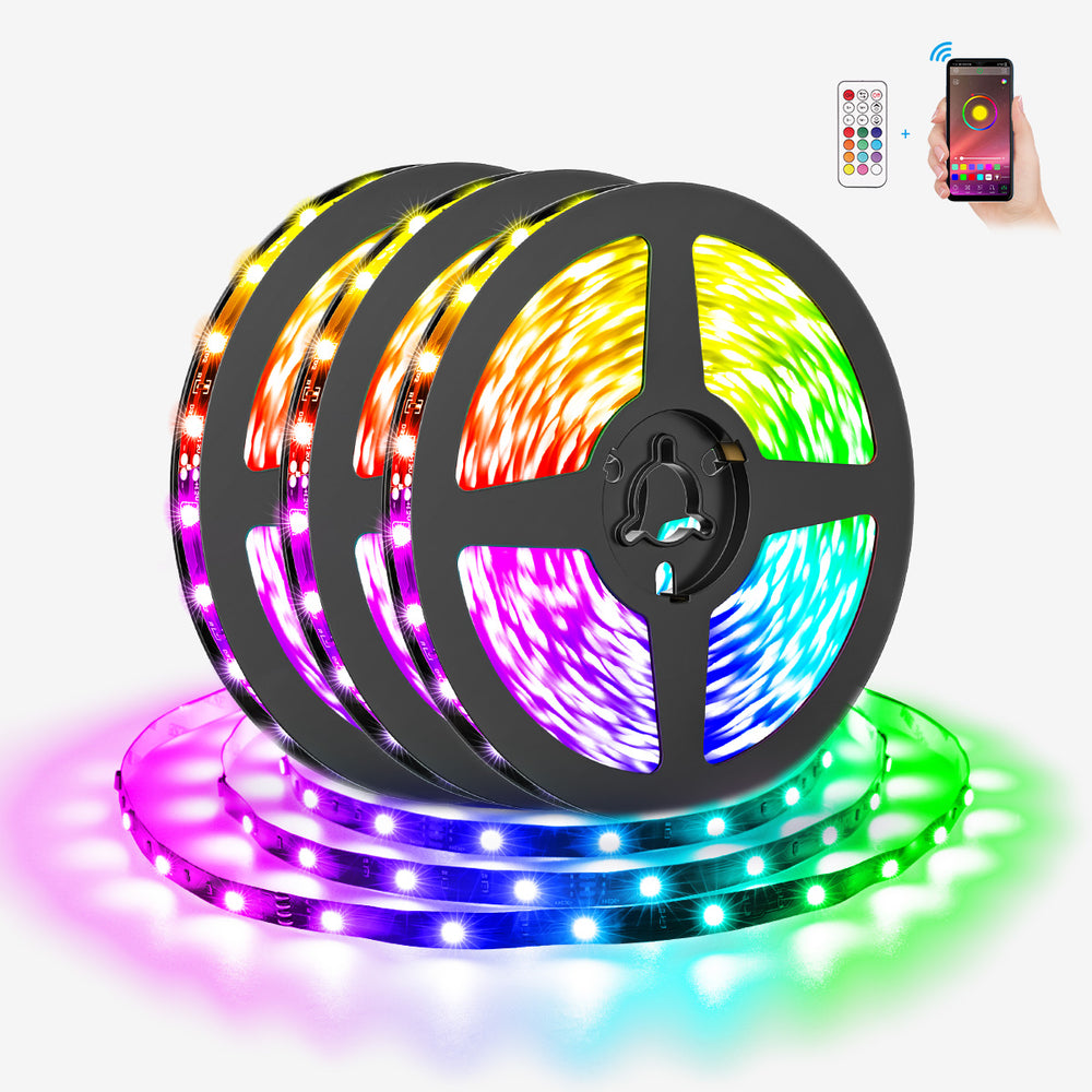 Alexa LED Strip Lights Smart WiFi Colour Changing Light Strip,  Works with Amazon Echo, Google Assistant for Home, TV, Party
