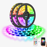 Alexa LED Strip Lights, Smart WiFi RGB Light Strip, Works with Google Assistant, Amazon Echo, Dimmable Coloured Strip Lights for Home, TV, Party, Decor
