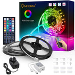 15m LED Strip Lights Kit, 5050 RGB Colour Changing Lighting Strip