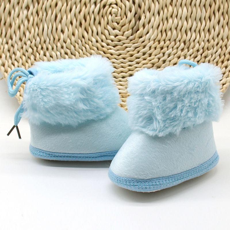Winter Boots for Newborn Girls Soft Soles