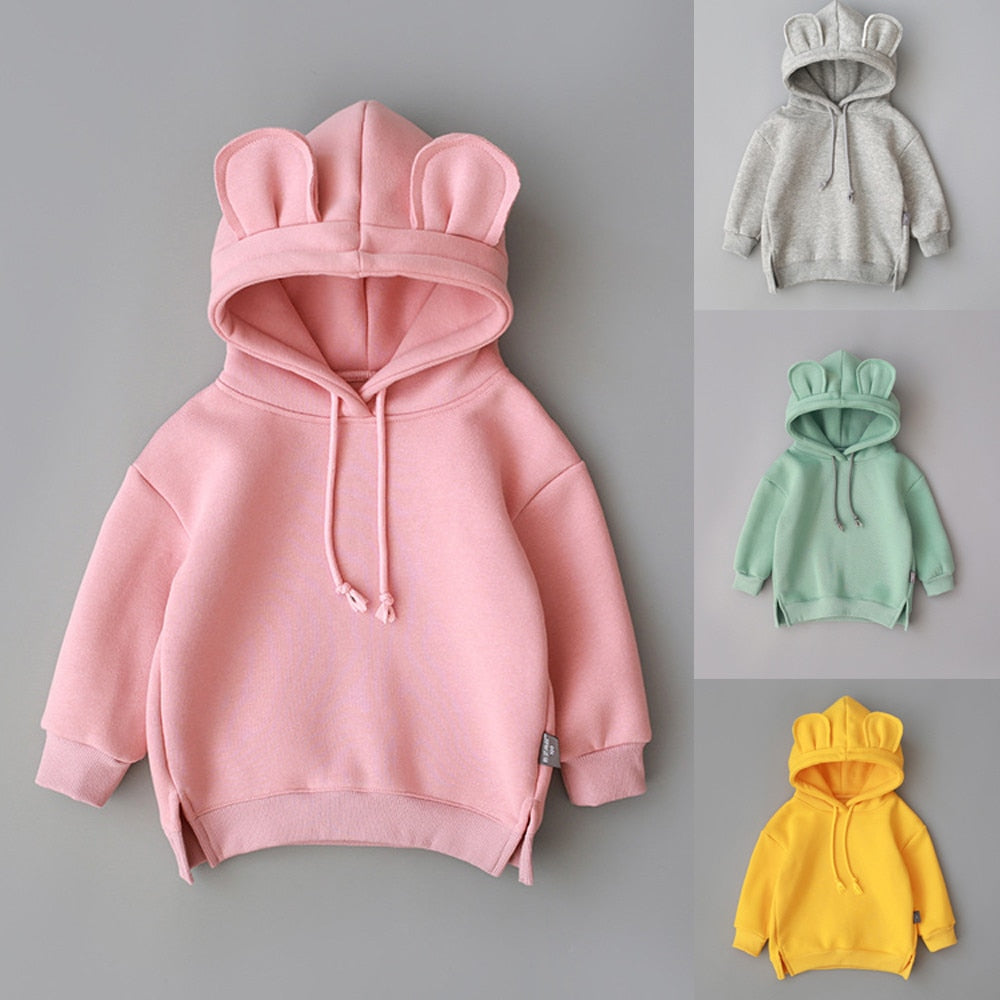 Kids Fleece Hooded Sweater