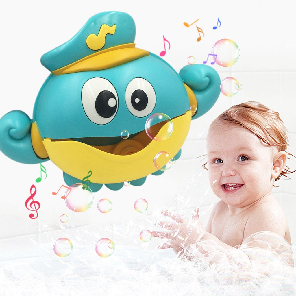 Children Bubble Bath Toy for with Sucker Machine