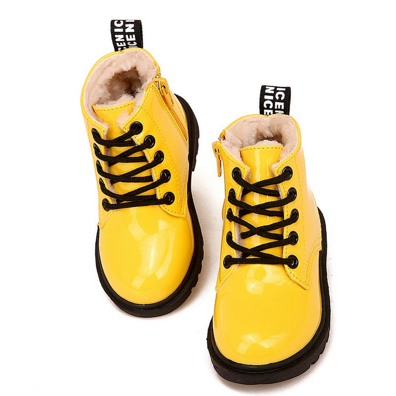 Children's Waterproof Fashion Boots