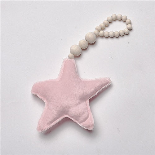 "Baby Decoration Pillow ""Nordic Moon Stars"""