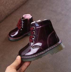 Warm Leather Boots Autumn - Spring and Winter (unisex)