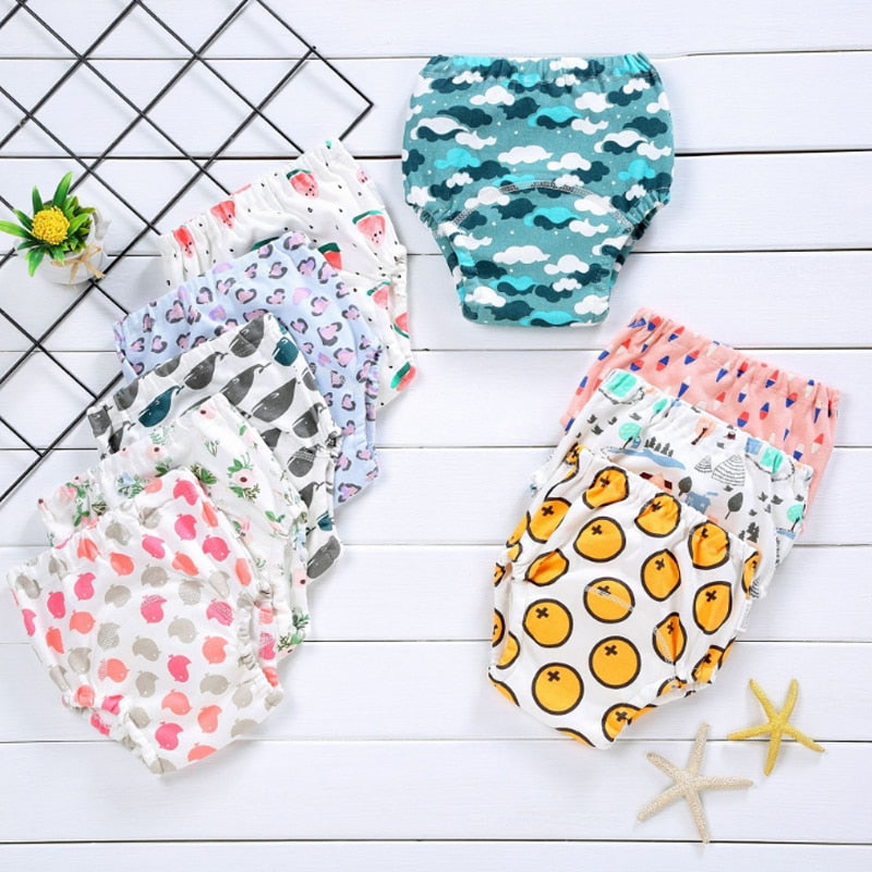 Reusable cotton diaper