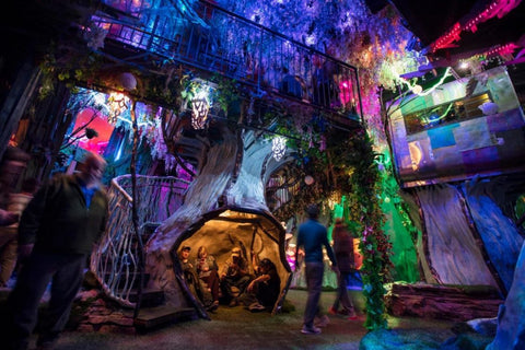 Vaping On Valentine's In These Top Cities - Meow Wolf New Mexico