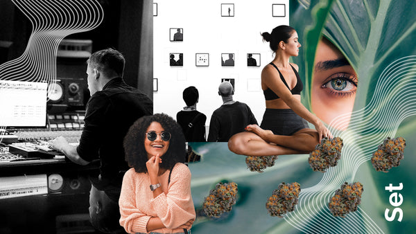 Creativity with mindful cannabis consumption