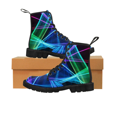 "Canvas Boots ""Xanadu"""