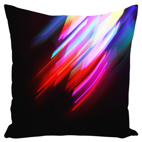 Canvas Cushion 22 x 22 'Swoosh'