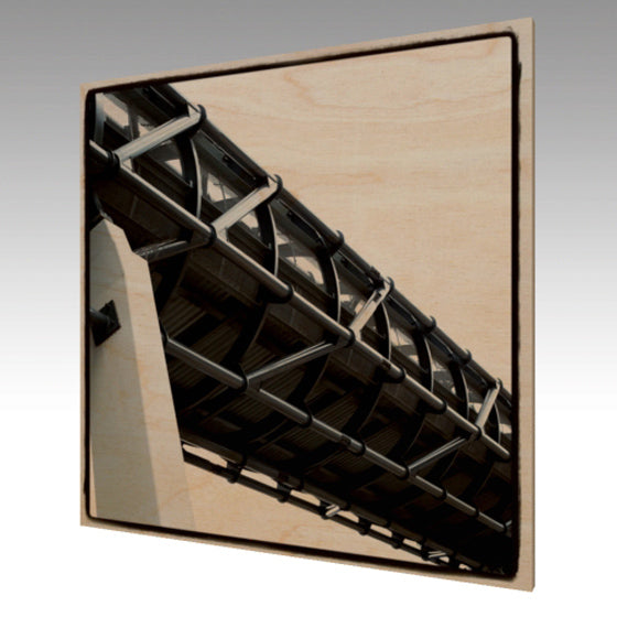 Wood Art Print 'Bridge'