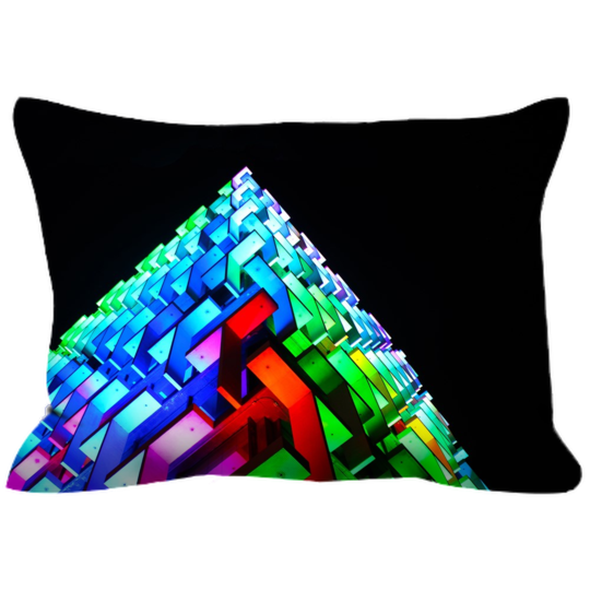 Canvas Cushion 20 x 14 'Matrix'