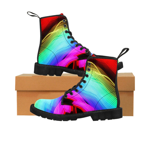 "Canvas Boots ""Chasing Rainbows"""