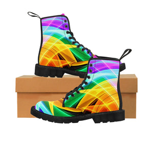 "Canvas Boots ""Love Celebrations"""