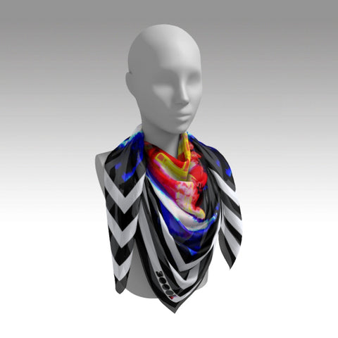Silk Scarf Square 'Salvation'