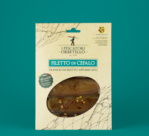 Filetto di Cefalo affumicato - I Pescatori di Orbetello- Circa 100 gr