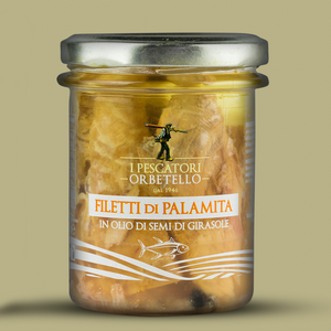 Filetti di Palamita - I Pescatori di Orbetello - circa 180 gr
