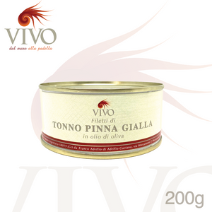 Filetto di Tonno Vivo - Lattina 200g