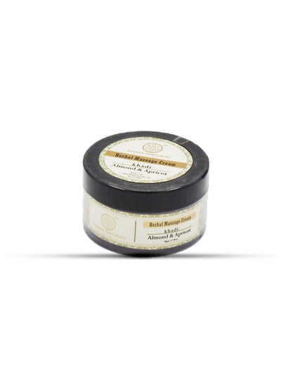 Khadi Natural Almond & Apricot Massage Cream (4637246586922)