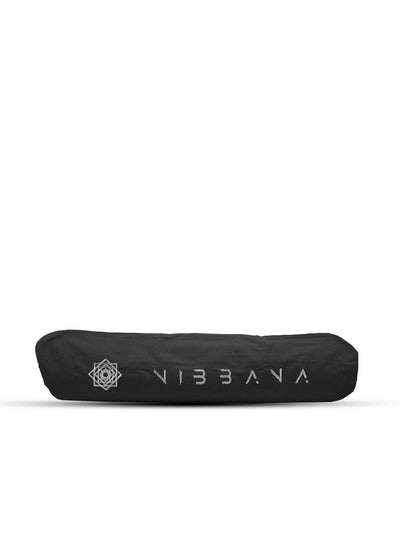 Nibbana Yoga Mat Carry Bag Black - Wide Opening (4517300502570)